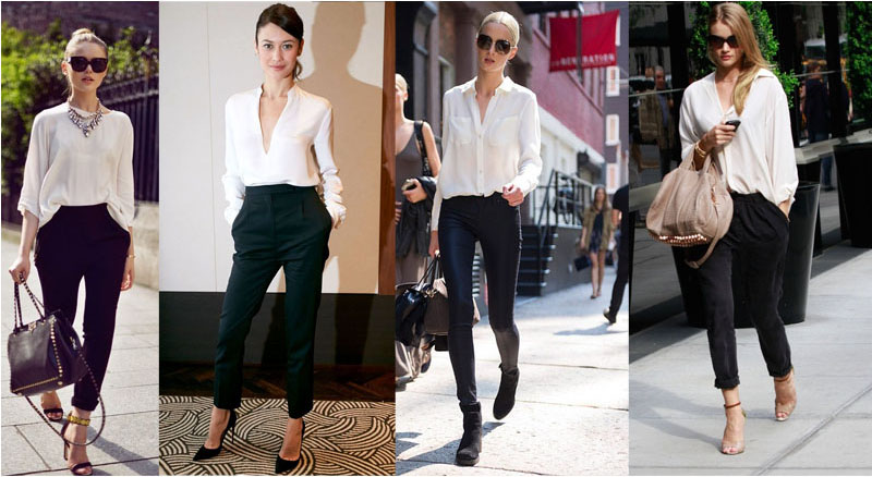 Capsule wardrobe staple - the white shirt.