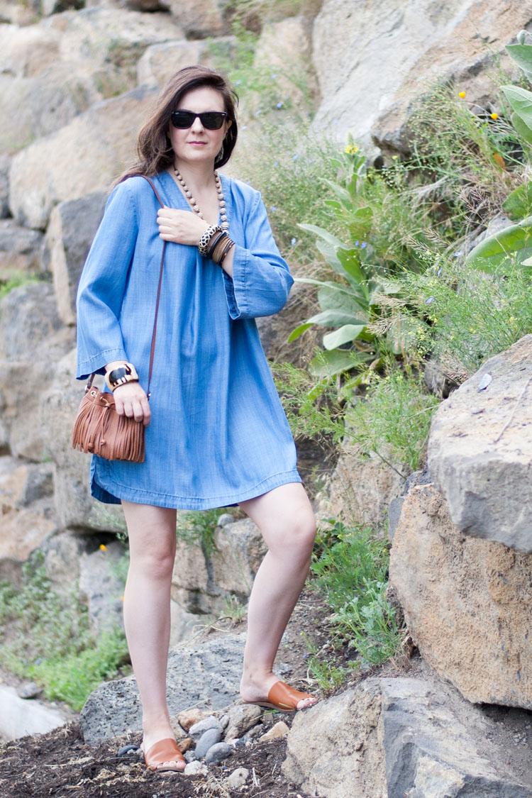 demin summer dress