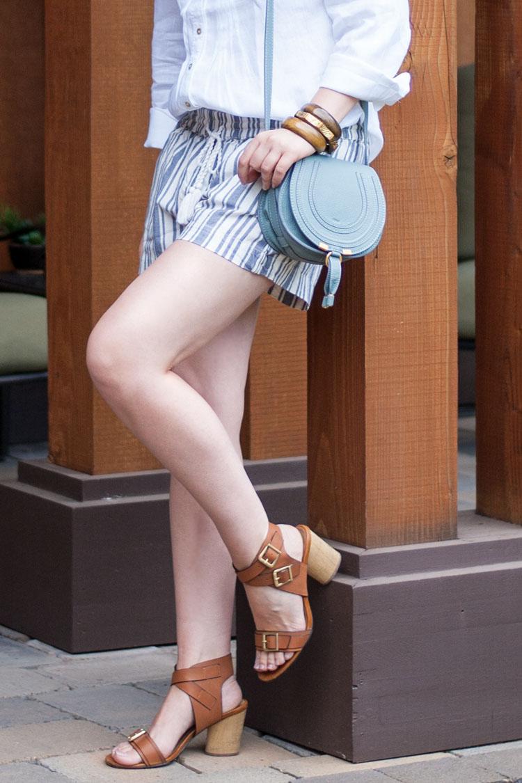 Fashion blogger Chloe Marcie saddle bag