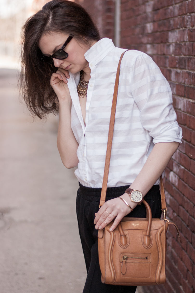 Style blogger classic white shirt
