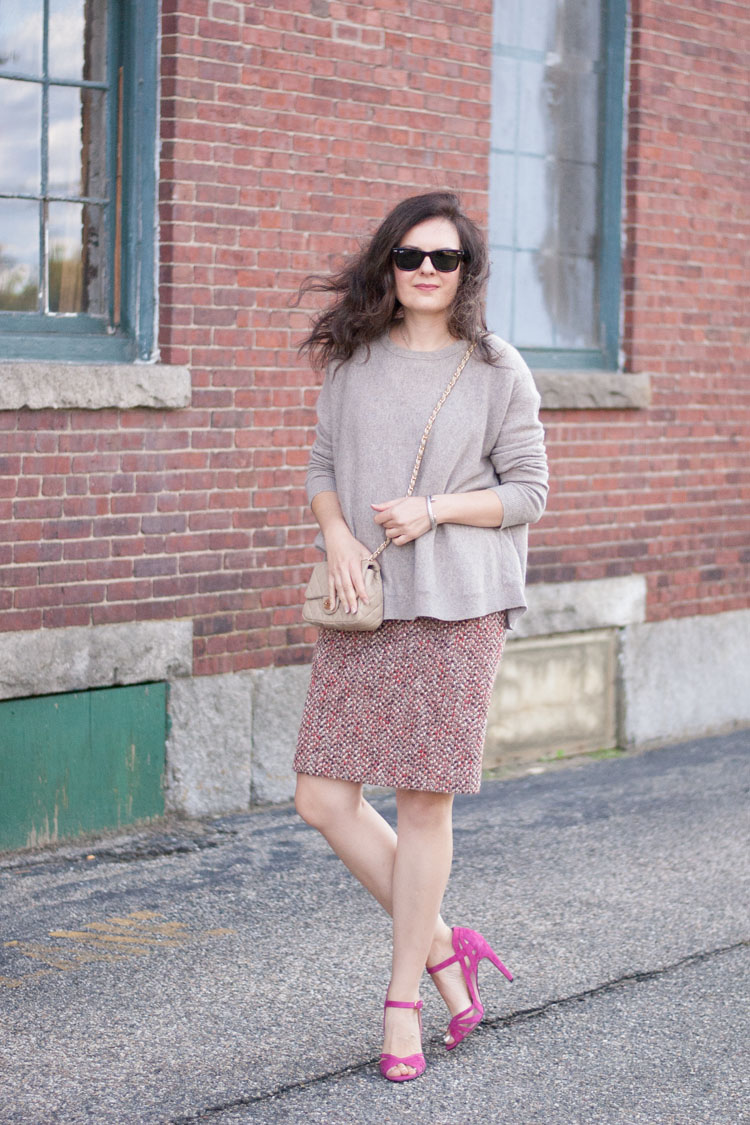 How to wear pink and blush for fall